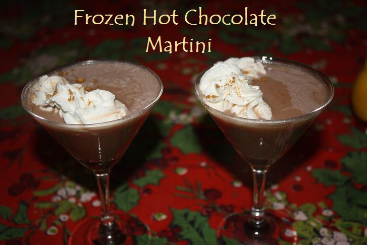 Martini Monday: Frozen Hot Chocolate Martini