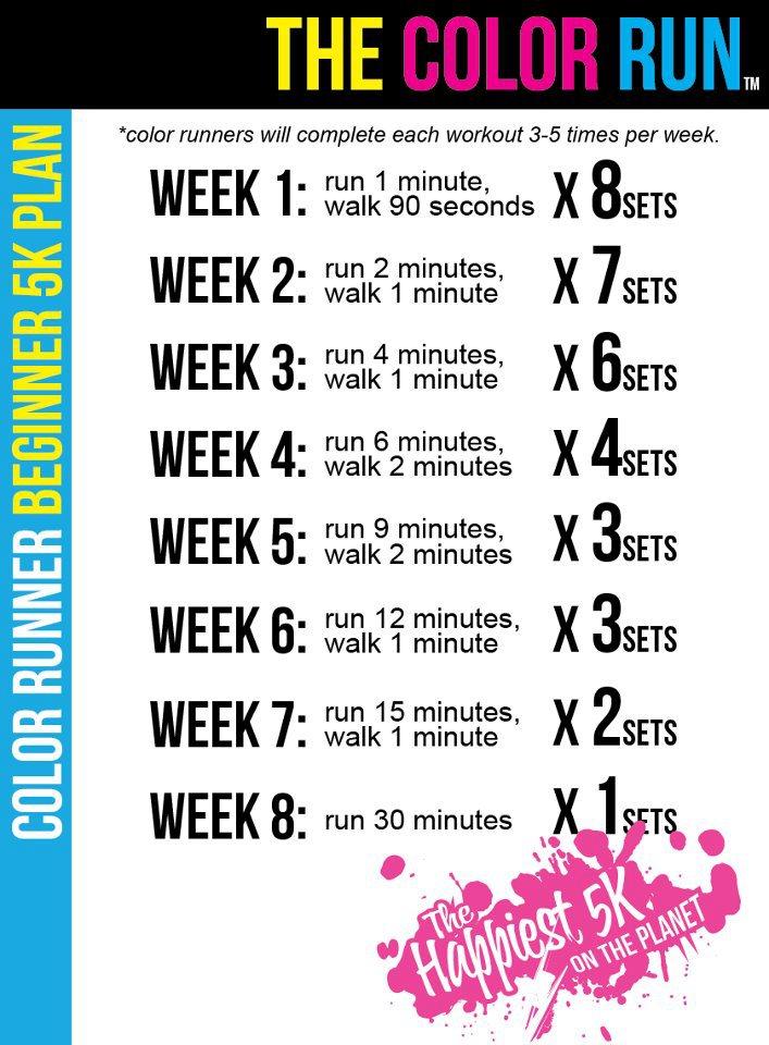 Color Run program